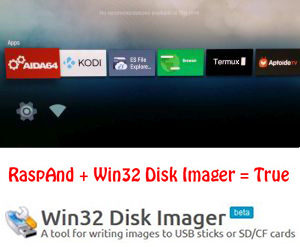 Install in Windows with Win32 Disk Imager – Exton Linux   Live Systems